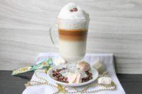 Латте макиато из растворимого кофе