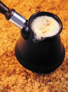 как приготовить варёный кофе с добавкой